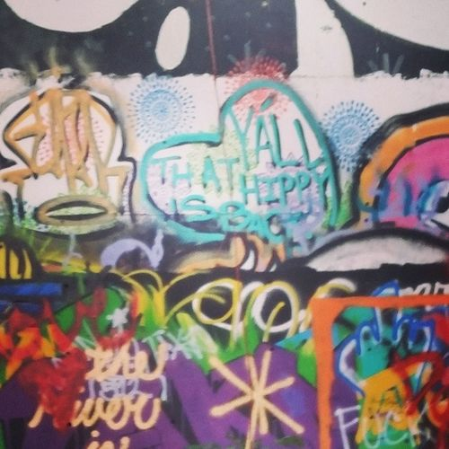 stare forever. you will see something new each time. Youseewhatyouwanttosee Graffiti Austin Texas