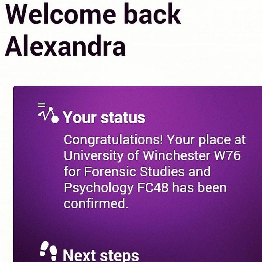 2015 can't come quick enough 2015  Resultsday Ididit Uni college alevels over apprenticeship next tuow theuniversityofwinchester winchester winchesteruni movingday forensicstudies psychology forensicstudiesandpsychology south exciting