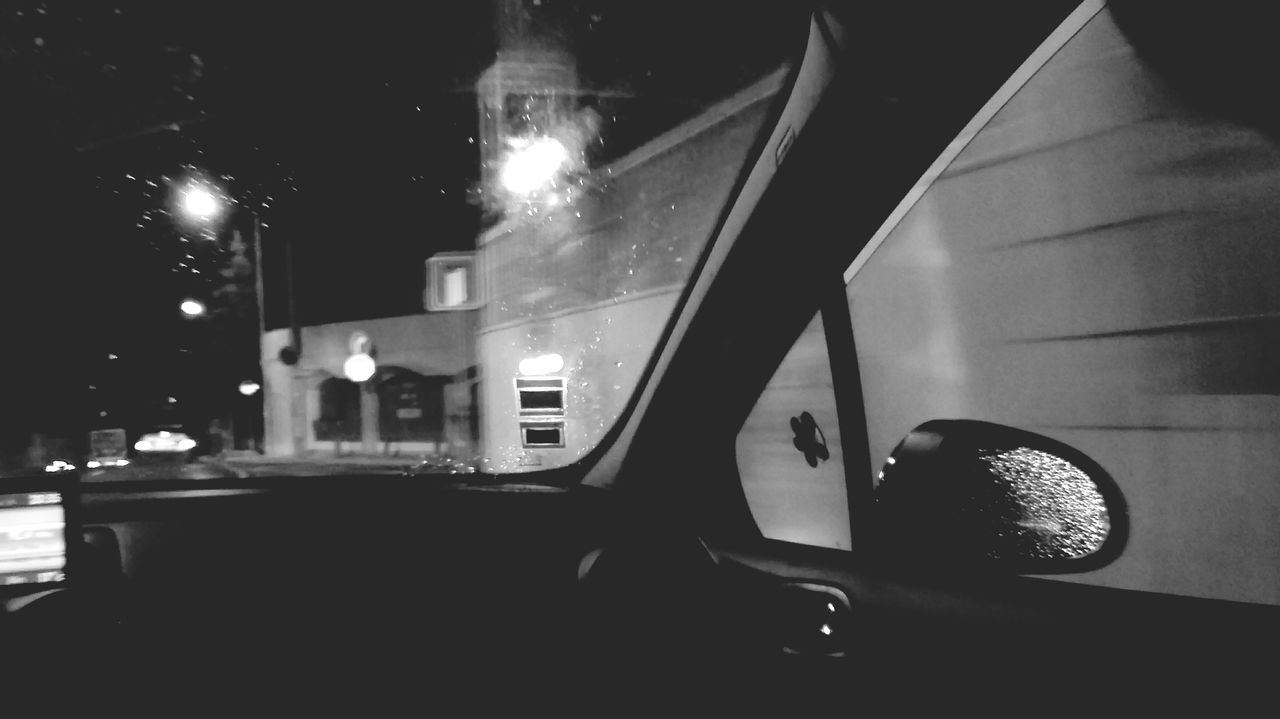 night, car, transportation, illuminated, land vehicle, mode of transport, no people, architecture, outdoors
