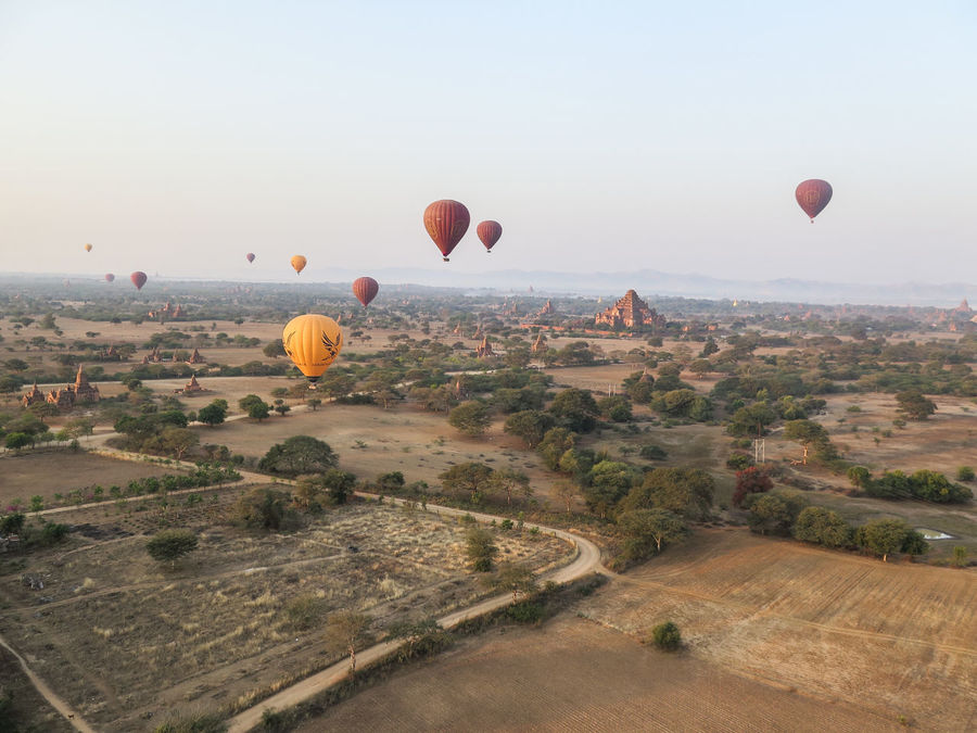 Bagan Beautiful Buda Buddhism Budhism Color Colors Expectacular Hot Air Balloons Hotairballoon Majestic Myanmar Nature Samsara Sunrise Temple Unreal