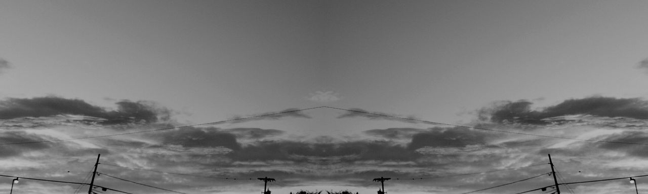 Morning In Mourning Mirrored Dramatic Sky Day Sky Beauty In Nature Vibrant Color Cloud - Sky Macabre October Darkness And Light Sunrise Silhouette Sunrise Sunrise_Collection Warhol Inspired No People Blackandwhite Black And White Sunrise N Sunsets Worldwide