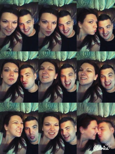 Being Silly :) With My Love ❤ Taking Photos Enjoying Tbt ❤