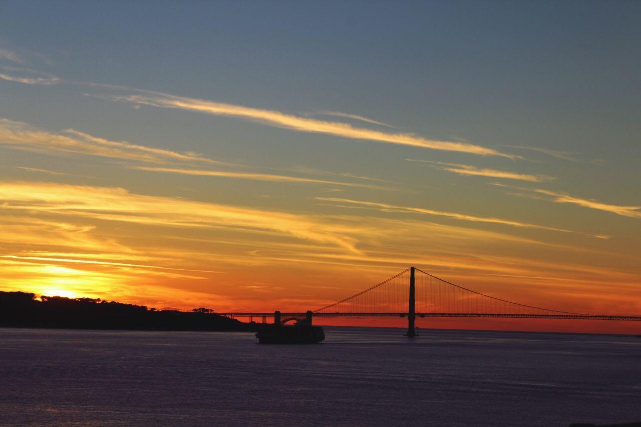 Sunset SanFranciscoBay GoldenGateBridge Beautiful Day