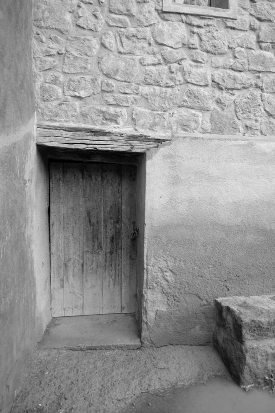 Wooden door of an old countryhouse Architecture Building Exterior Built Structure Countryhouse Door No People Old Stone Wood