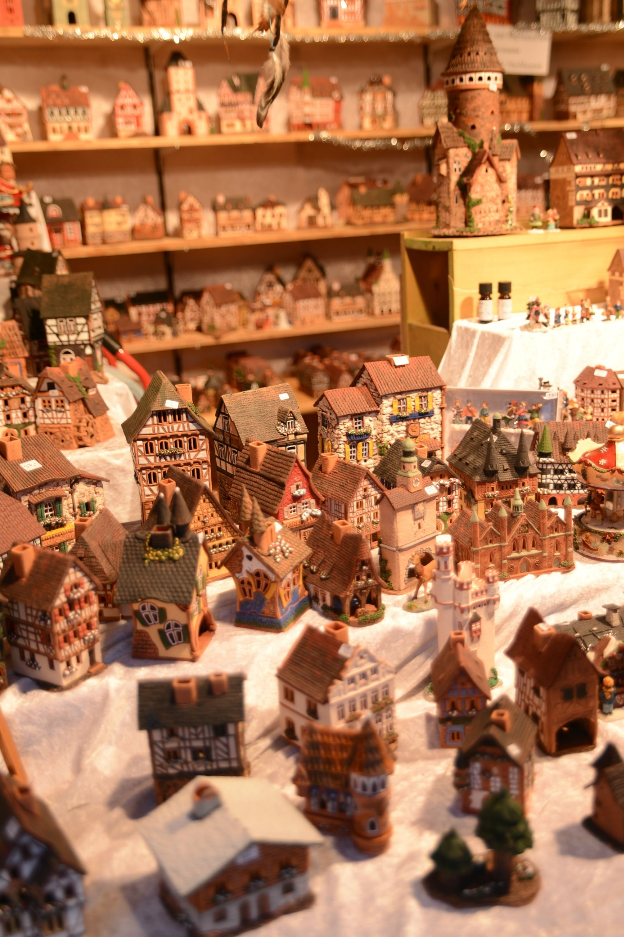 retail, market, market stall, for sale, built structure, indoors, architecture, high angle view, store, variation, religion, large group of objects, abundance, roof, building exterior, place of worship, choice, spirituality, hanging, cultures