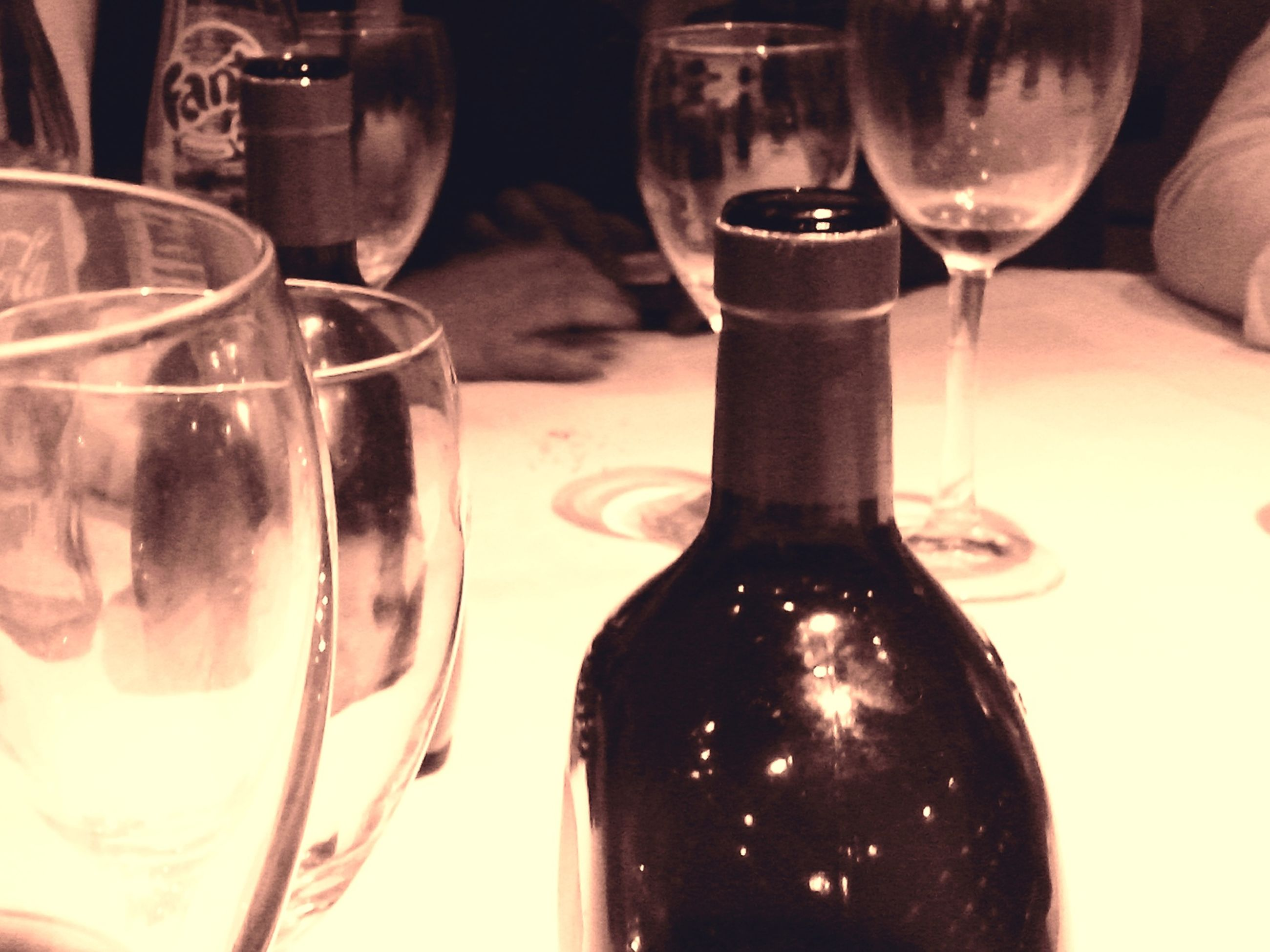 food and drink, drink, drinking glass, indoors, refreshment, alcohol, glass - material, freshness, table, still life, wineglass, close-up, wine, transparent, glass, food, wine glass, bottle, restaurant, alcoholic drink