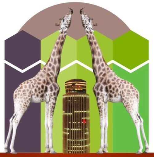 Animal Kingdom In Modern World Freemix Animal Animal Wildlife Giraffe No People Animal Themes IpodArt Streamzoofamily Streamzoo Family Beauty In Nature Modern Art Mikefl99 Freshness IpodArt