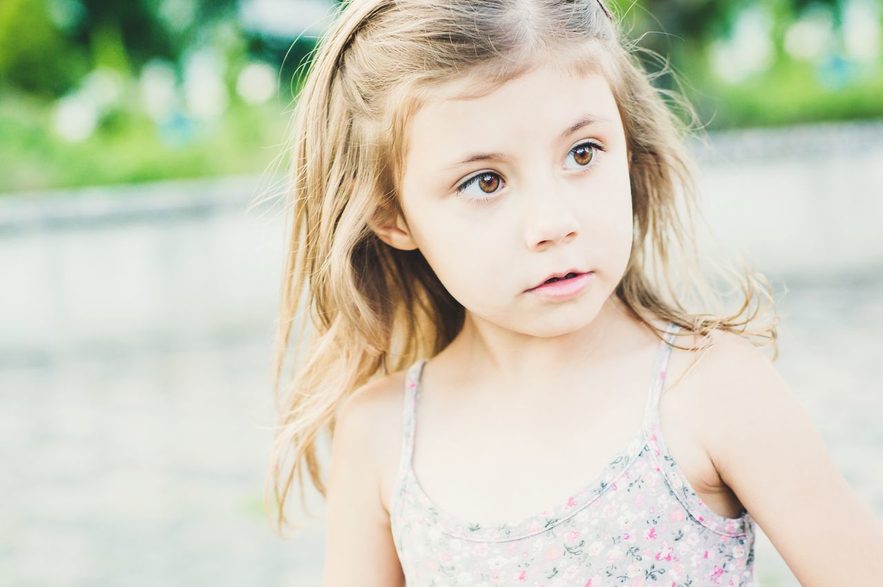 THE BEAUTY| Children Only Child Childhood Girls Portrait Outdoors Summer Headshot People Day Close-up Cute Freshness EyeEm Gallery Fresh On Eyeem  EyeEm Selects Lightroom EyeEm Best Shots EyeEm Best Edits Life Beauty Closeup One Person Beauty Girl