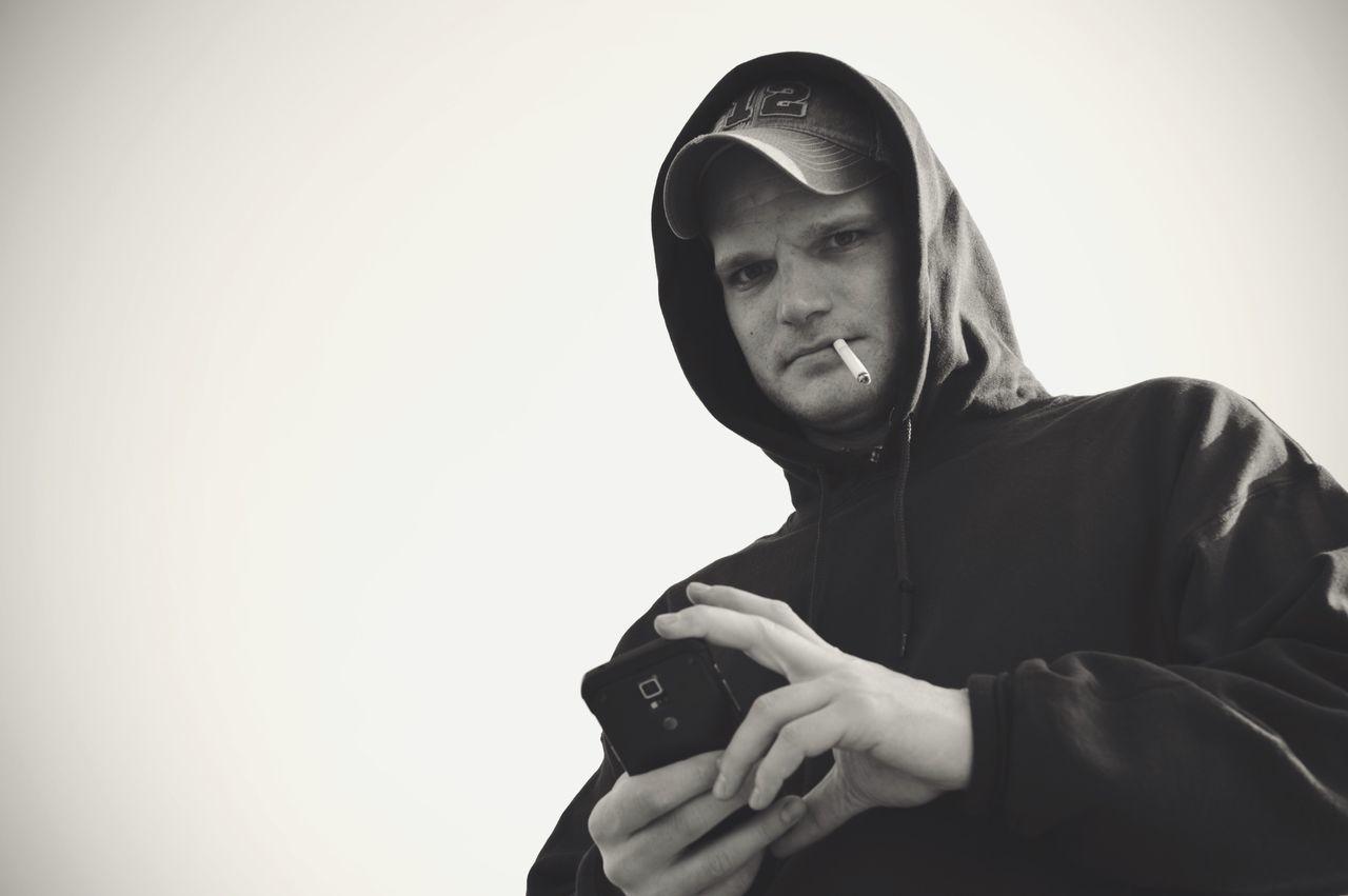 Lookingdown Taking Photos Taking Pictures Just Hanging Out My Love❤ Man Blackandwhite Monochrome Smoking Black And White