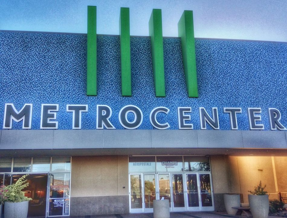 Architecture Built Structure Building Exterior Text No People Day Outdoors Sky Doorway Door Nostalgic  Metrocenter Shopping Mall Phoenix Arizona Eye For Photography Atmosphere Modern The Way Forward Close-up Communication Architecture Text Mall Shopping Time