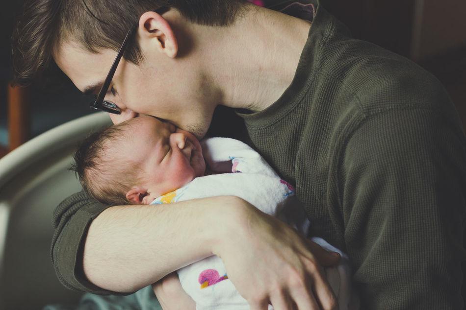 Beautiful stock photos of kuss, 20-24 Years, Baby Girls, Child, New Born