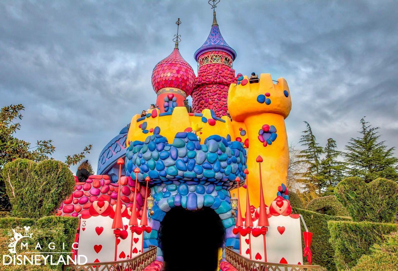 Multi Colored Disneyland Resort Paris Holiday - Event Celebration Disneyland Disneyland Paris HDR Hdrphotography Disney Waltdisney Architecture