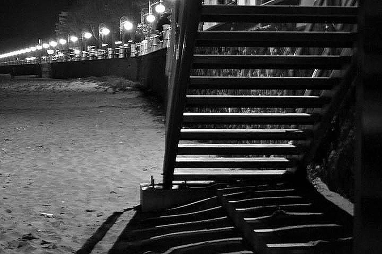 Blackandwhite Steps | steps in the dark.