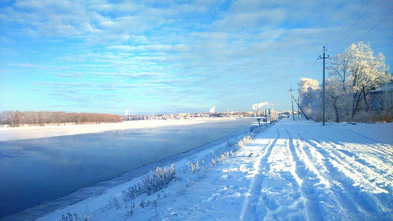 Winter in russia?❄ Taking Photos Hello World My Winter