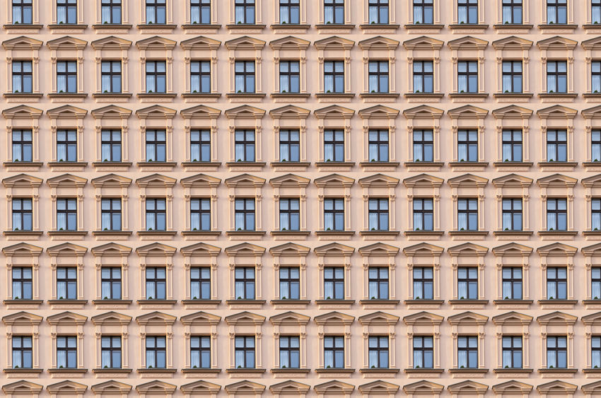 Apartment Architecture Architecture Backgrounds Berlin Building Building Exterior Facades Home House In A Row Kreuzberg No People Old Outdoors Pattern Repetition Same  Texture Wall Window