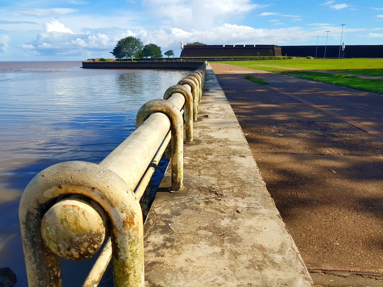 The Secret Spaces River Collection Brazil Natural Beauty River Amazonas Biggest River In The World Military Weapon Water Sea No People Close-up Outdoors Day Cloud - Sky Sky Nature Beauty In Nature Premium Collection Getty Images EyeEmNewHere River Amazon River Brazil Fortress Wonderful