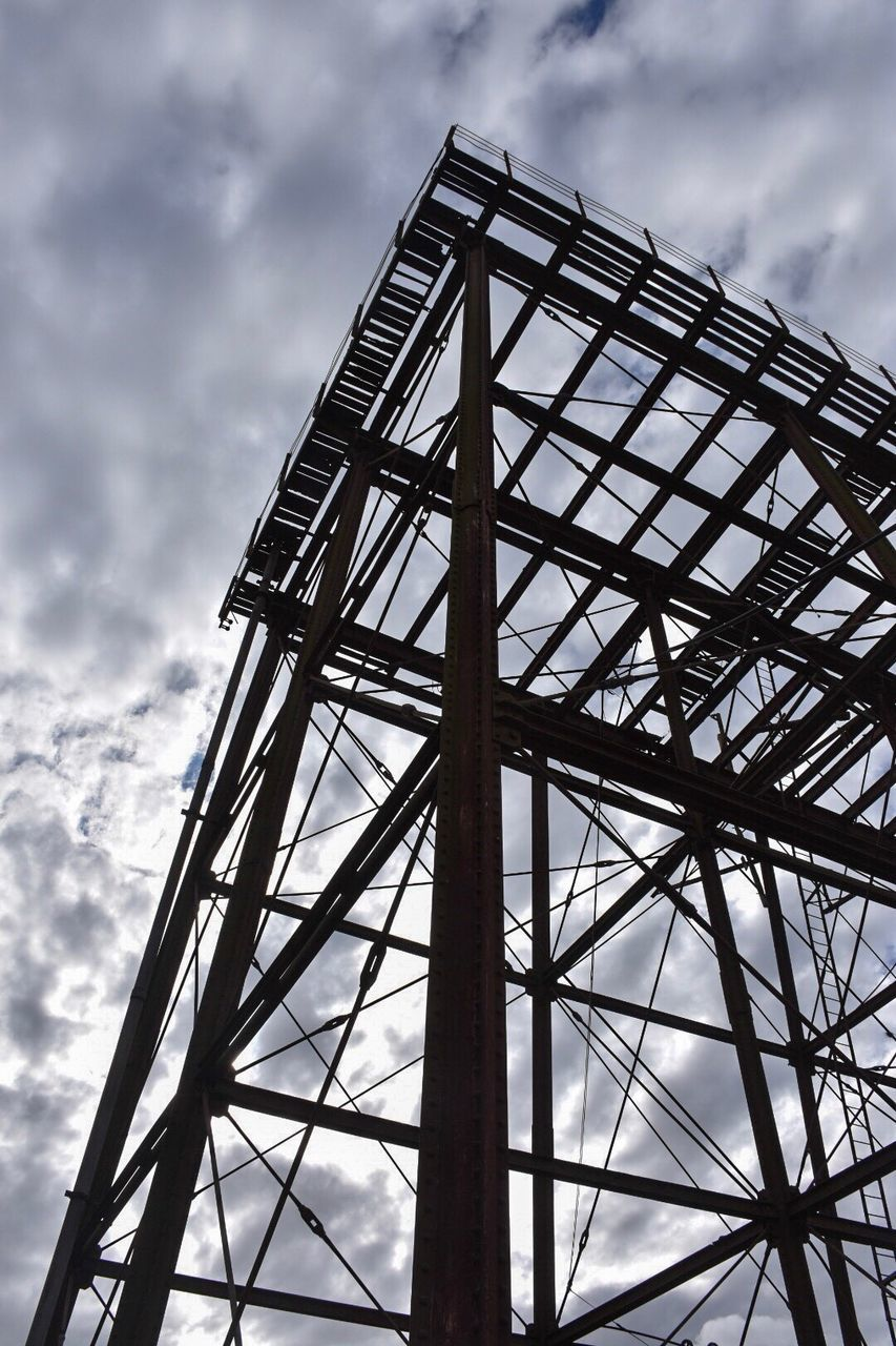 cloud - sky, low angle view, sky, built structure, architecture, day, no people, outdoors, nature