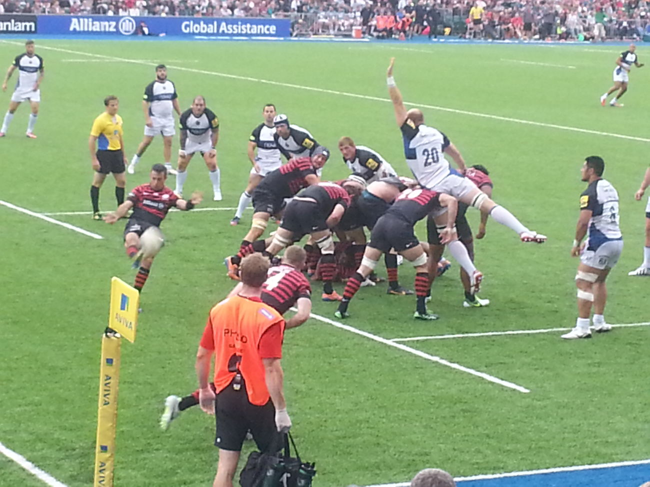 Rugby London Watching Rugby Watching The RugbySaracens Rugby