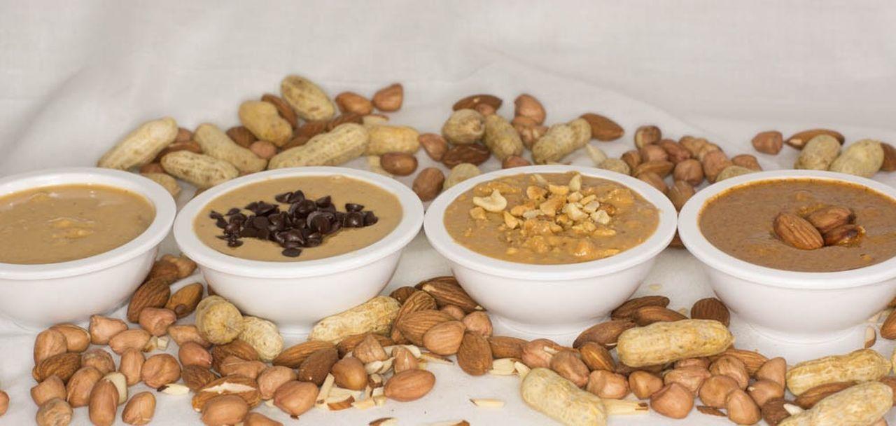 Peanut Butter Almond Butter Peanuts Almonds