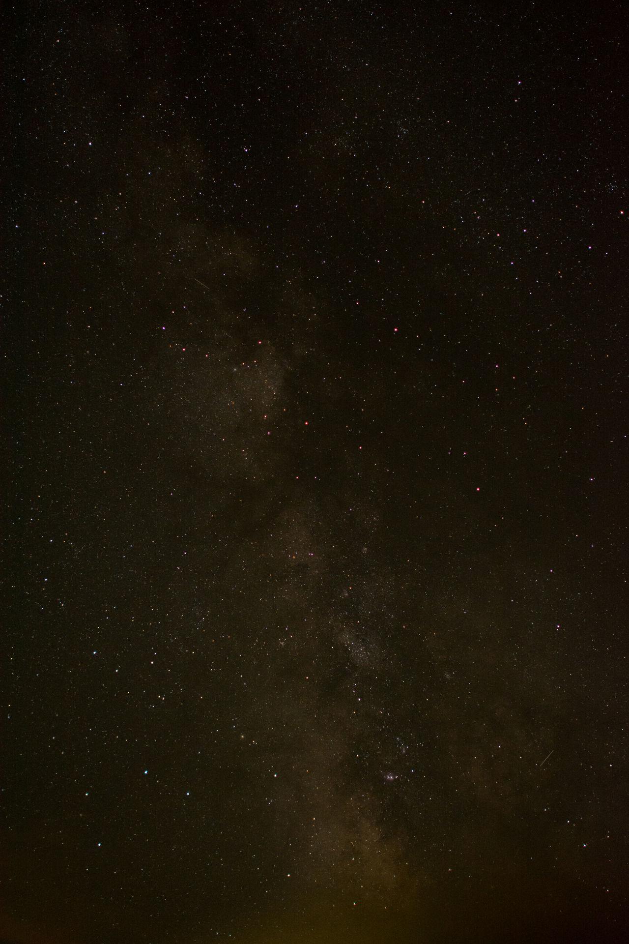We are not alone Galaxy Low Key Milky Way Nature Night Night Sky No People Sky Stars