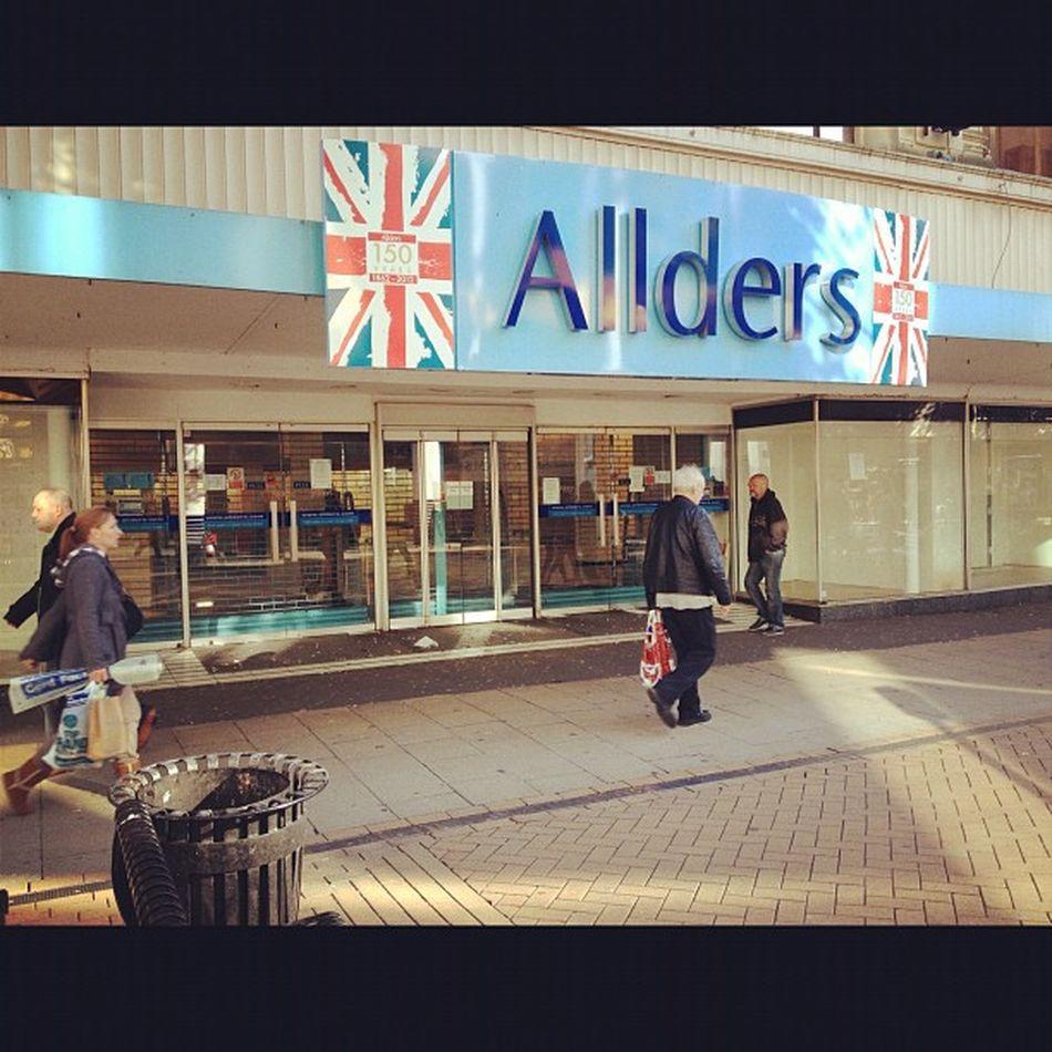 Visions of Croydon Allders Allders Closure Northend Shop croydon shopping