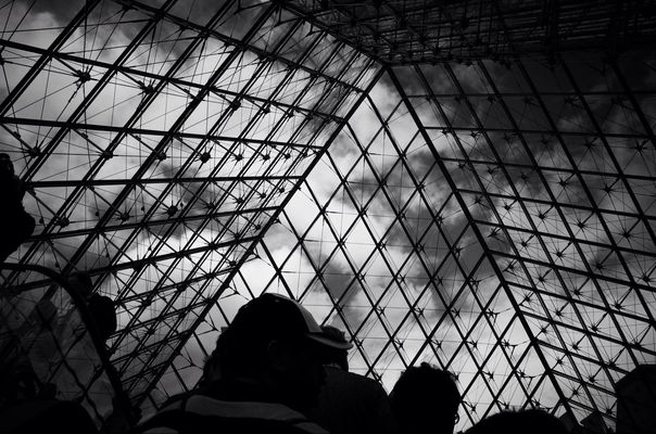 Architecture at Louvre by RPTW