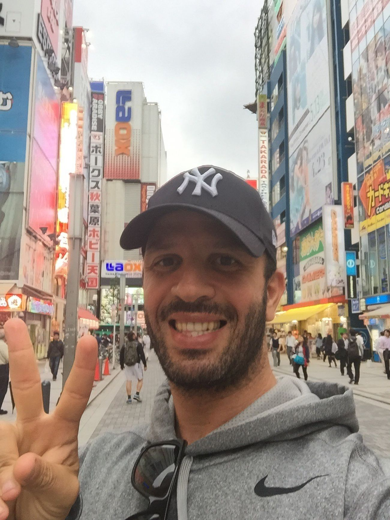 Let me take a Selfie - Happy face in Akihabara Tokyo,Japan Travel Photography Selfie ✌ MangaLover Happy Akihabara