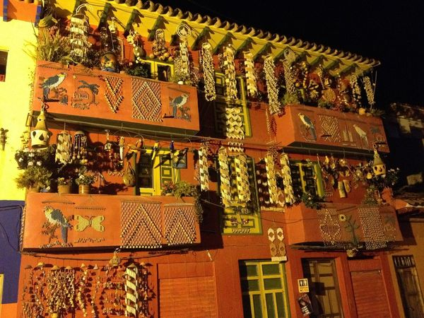 Architecture Art Art, Drawing, Creativity Ceramics Craft Night Travel Urban