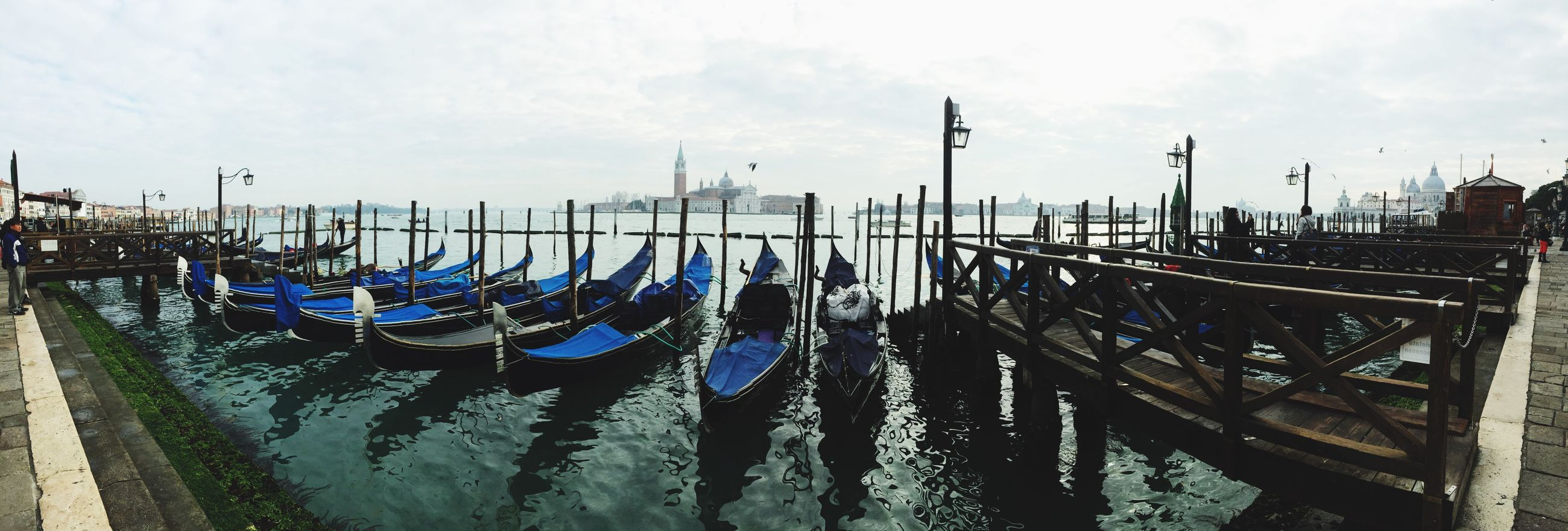 Panorámica Venice Italy Traveling