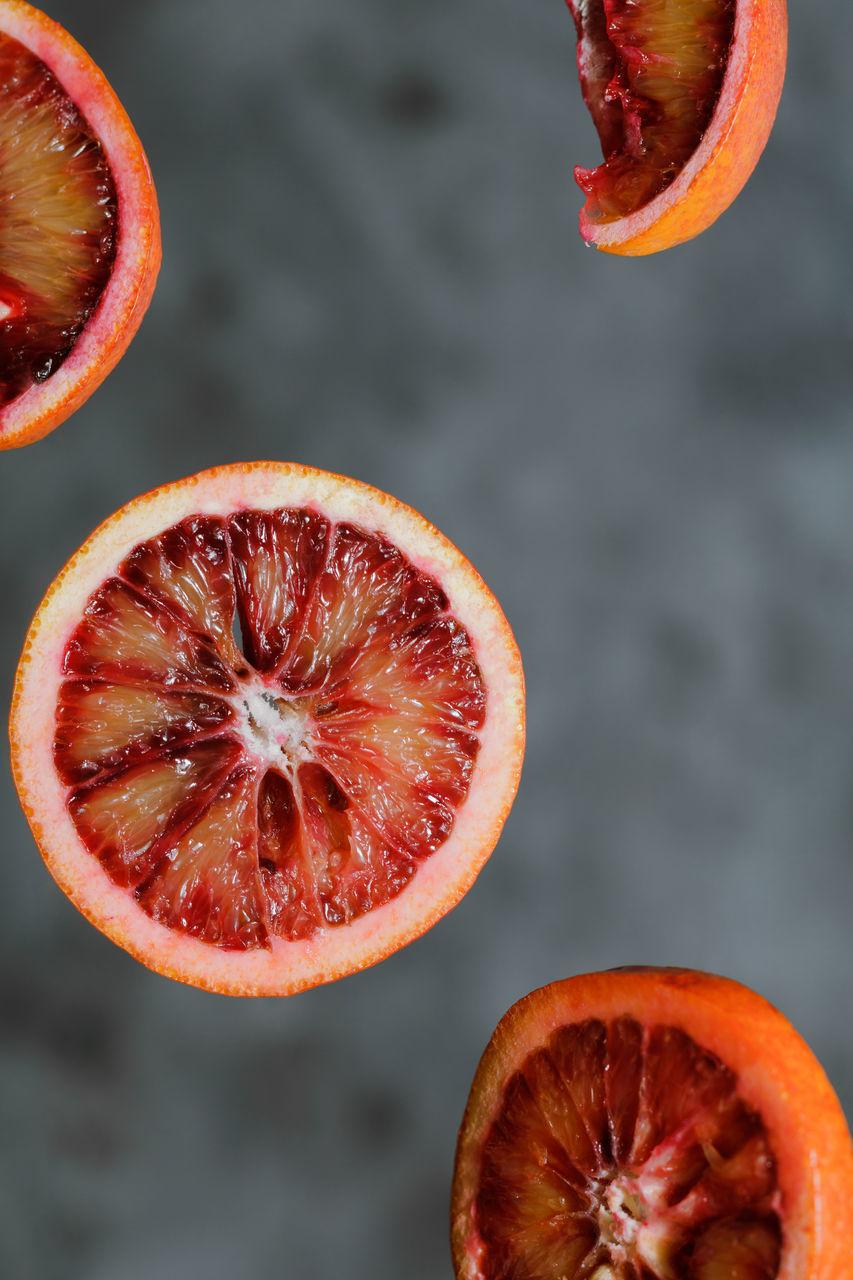 Close-Up Of Blood Orange