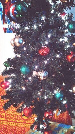 Our 2013 mini Christmas tree! <3