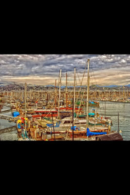 Ventura Harbor in Ventura by wcooke