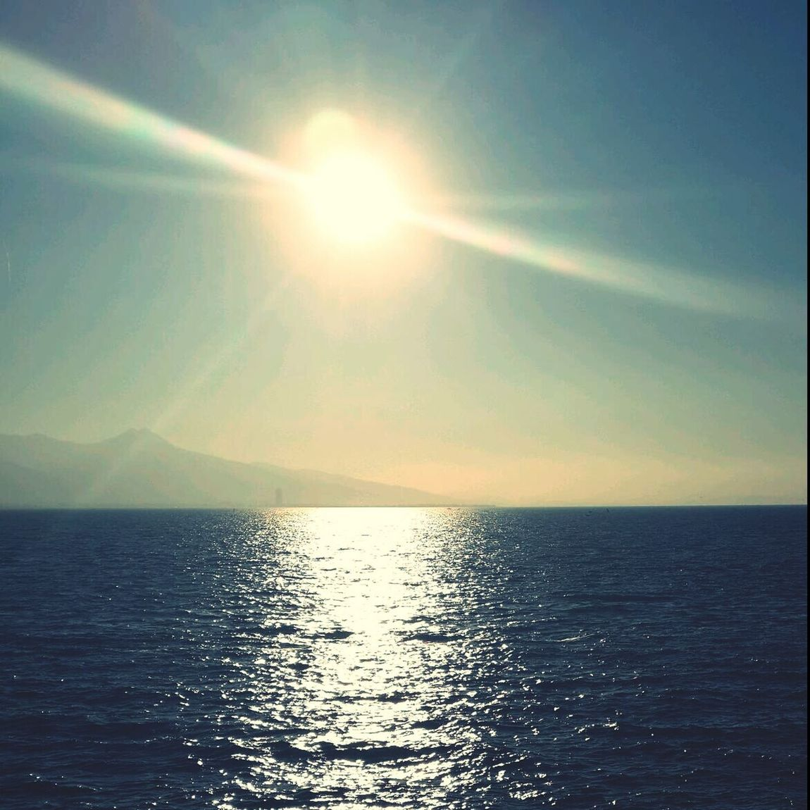 Sea Sun Sky Sunshine