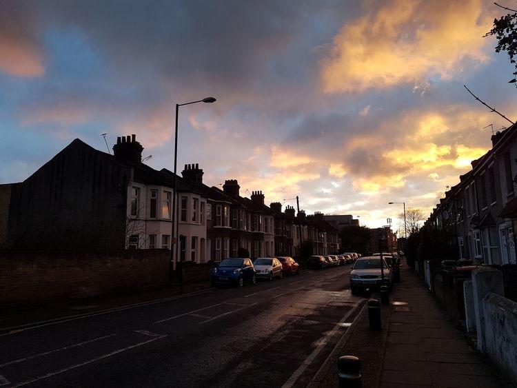 Beautiful West Ham Streetphotography Uk City Street Street Sunset City Cloud - Sky Outdoors Architecture No People Sky
