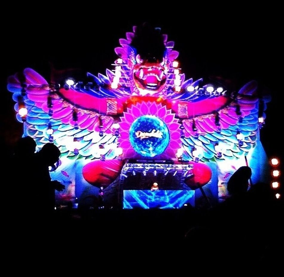 Dreamfields 2014 GWK BALI Rave!! Bali, Indonesia Awsome!