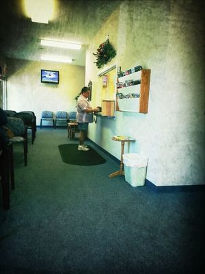 checkin in at Draves Family Practice by Onkel Art
