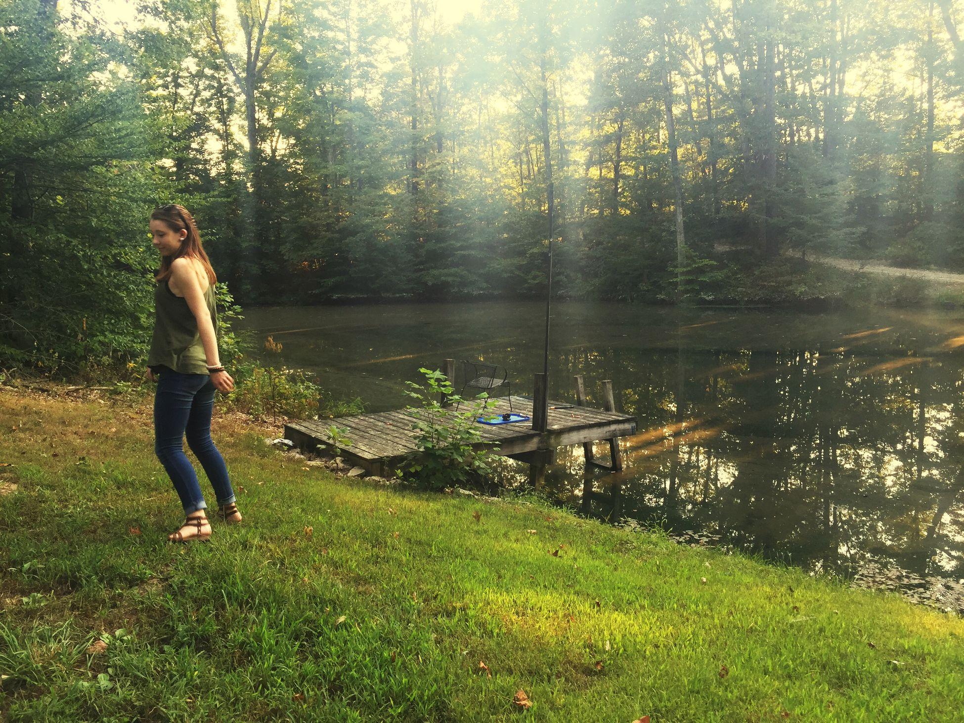 Lake Dancing Capturing Freedom