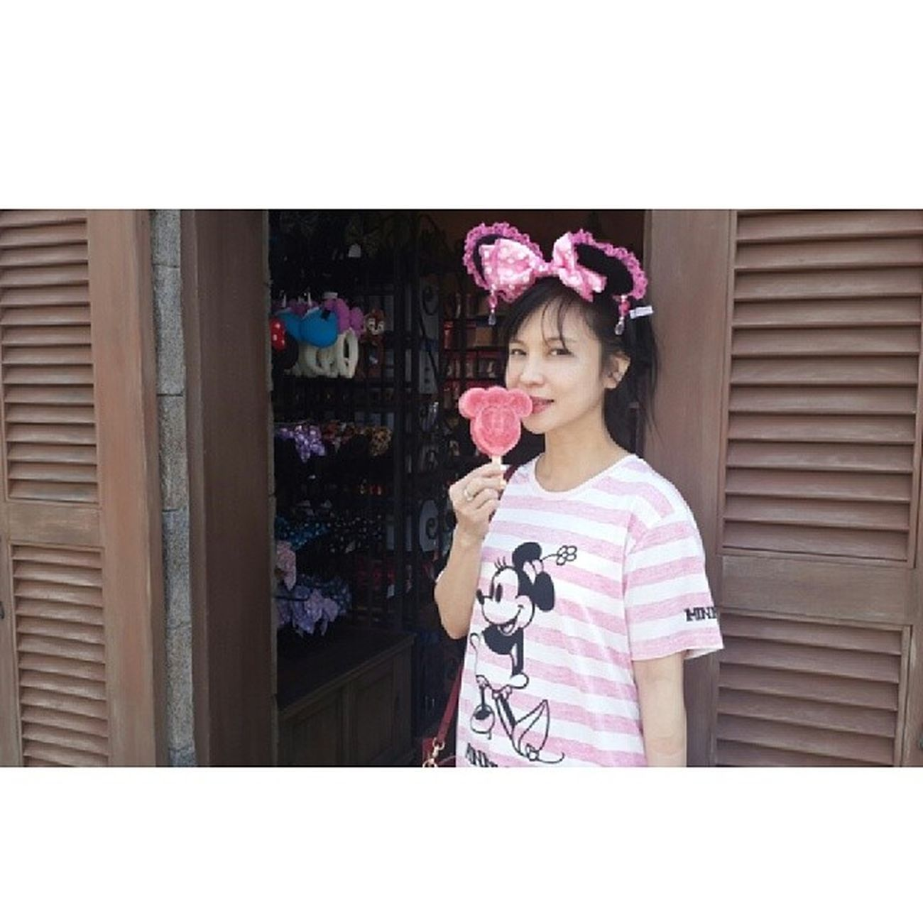 20140424 Tokyodisneysea DisneySea Disney Tokyo Japan Jp Minnie Pink fashion icecream