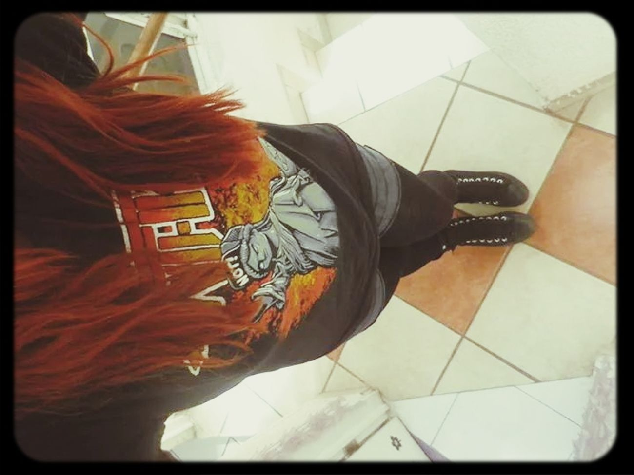 Anthrax Self Portrait