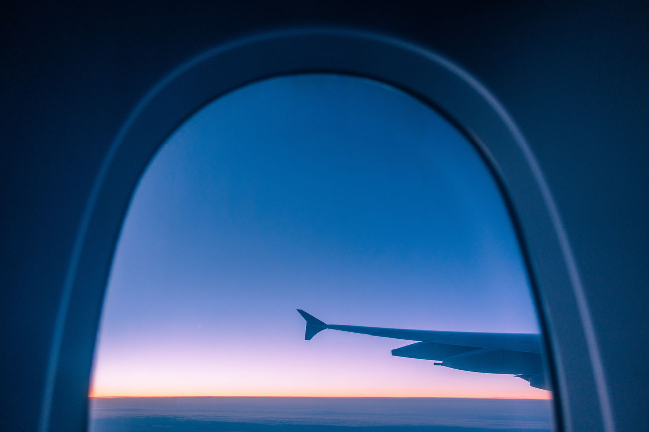 Air Vehicle Aircraft Wing Airplane Airplane Wing Beauty In Nature Blue Close-up Day Mode Of Transport Nature No People Outdoors Scenics Sea Sky Transportation Water