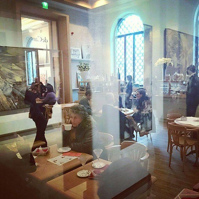 Cafe at Galleriaditalia Museum Milan Picoftheday Travel Followme Milanocityufficiale