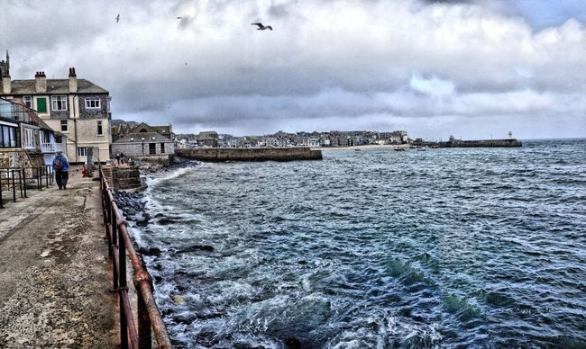 Sea Taking Photos Cornwall Improvedimage
