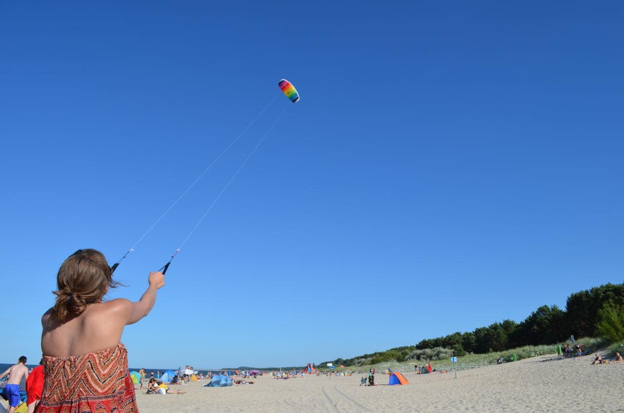 Beautiful stock photos of dragon, Beach, Blue, Clear Sky, Control