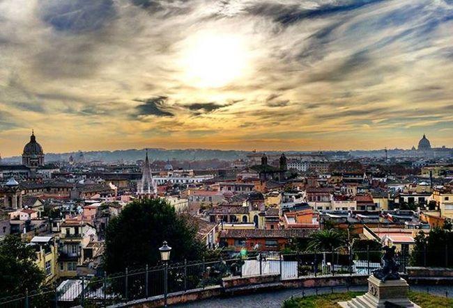 ROME ROME ROME....BEAUTIFULL ROME😄😄!Panoramic Rome Igers Igersrome Italy Igersitaly Lazio Igerslazio Sun Clouds Sunshine Sky Pincio Pincioterrace Emotion Awesome Beautifull Travel Love Holidays City Vacation LoveTravel Instamoment Instapic instadaily picoftheday friends