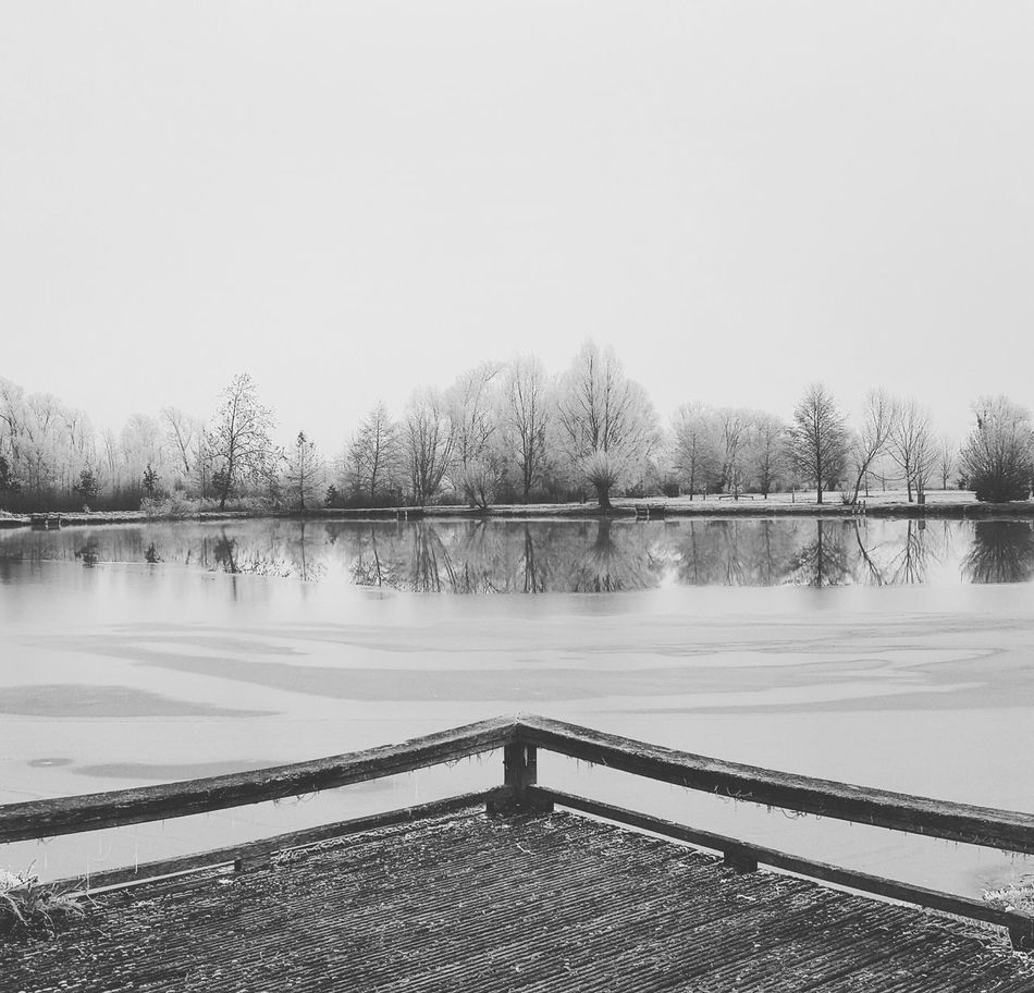 Lake Outdoors No People