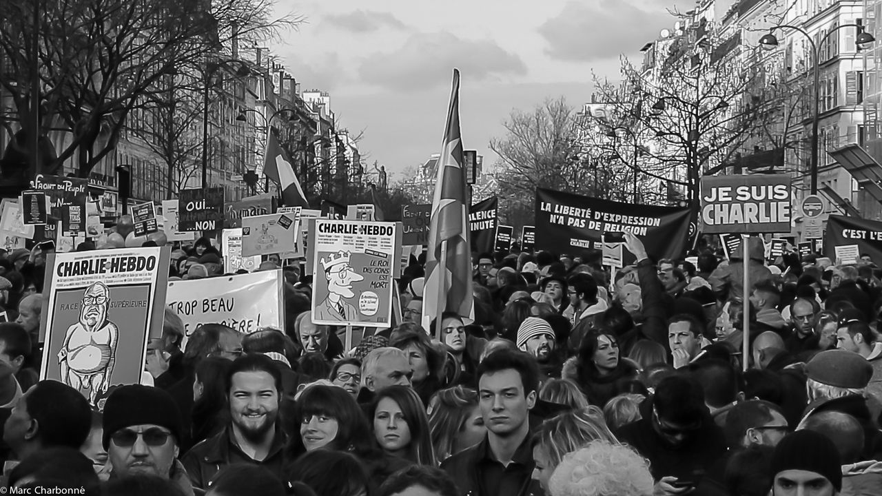 Attentat Attentat Paris Charlie Charliehebdo City Life Cultures Large Group Of People Manifestation Manifestation Contre Le Terrorisme Paris Real People Jesuischarlie