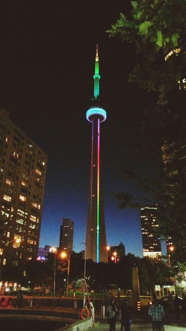CN Tower - Toronto Toronto Toronto Landscape Downtown Toronto First Eyeem Photo