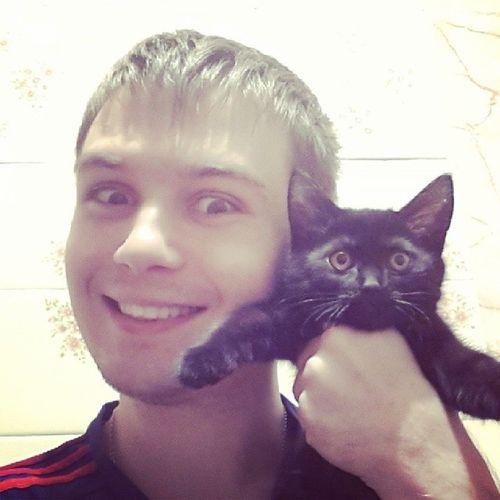 А вот и фото с котиками)))
