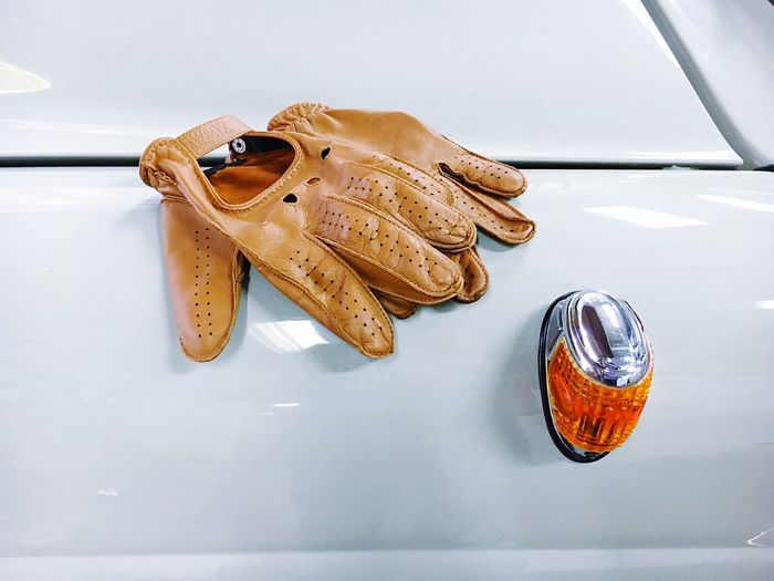 Attribute Blinker Close-up Day Detail Driver A Driving Focus On Foreground Leather Gloves No People Old Car Still Life Turn Signal Mercedes The Drive