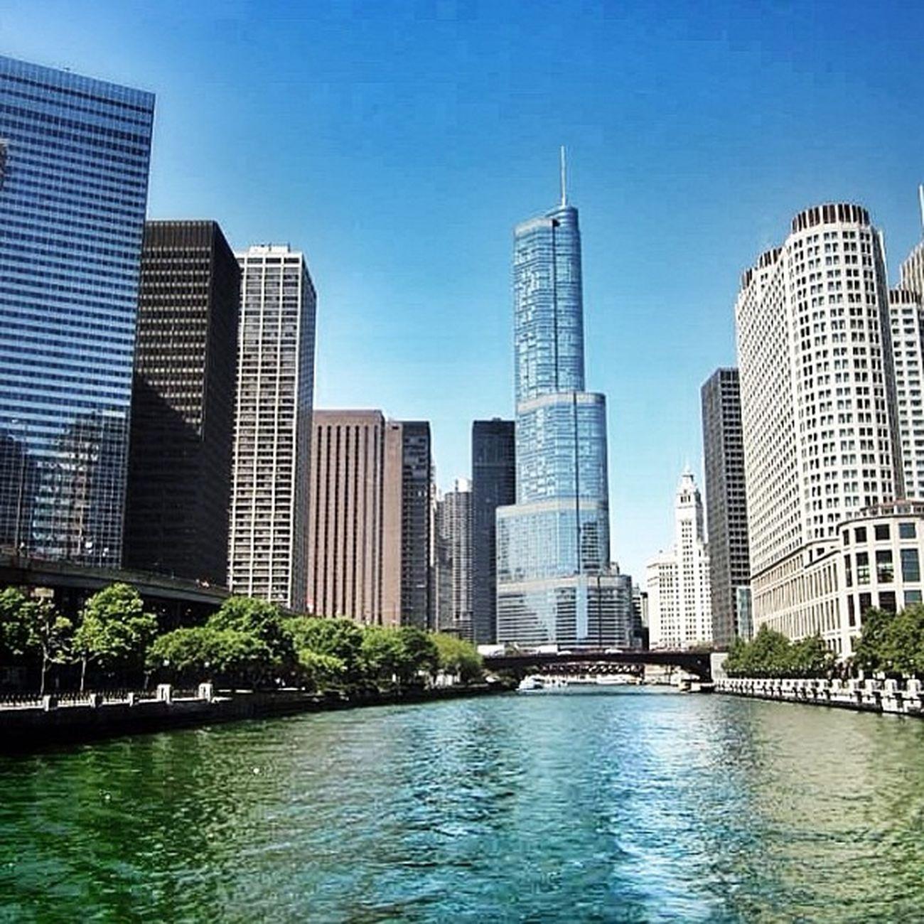 Chicago #chicago #chicagoriver #usa #city #river #trump #travel #honktravel River City Chicago Travel USA Trump Honktravel Chicagoriver